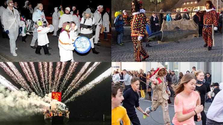 Der Schmutzige Donnerstag markiert den Fasnachtsbeginn im Aargau – aber auch in anderen Teilen der Schweiz.