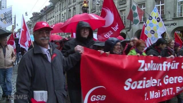 1.-Mai-Marsch in Bern