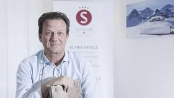 Seit 16 Jahren führt Beat Hess die «Sunstar Hotels». Aktuell verdienen diese das Geld in Interlaken.