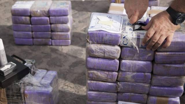 Kokain in Verpackungen für den Schmuggel (Archiv)