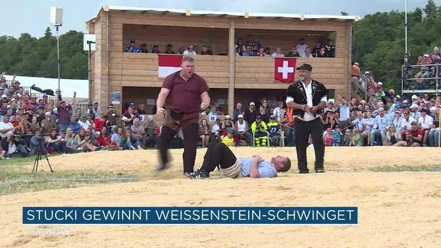 Christian Stucki gewinnt Weissenstein Schwinget