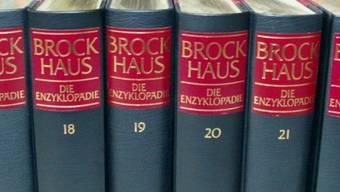 So präsentierte sich das Brockhaus-Lexikon in seiner bekannten Form