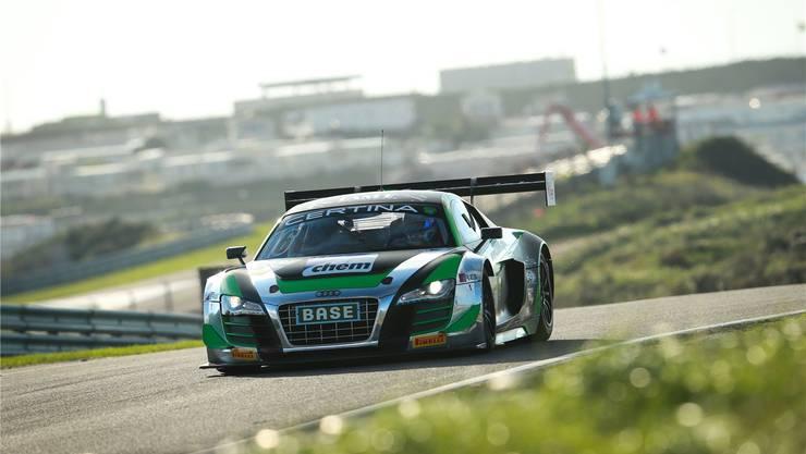 Hier ist die Aedermannsdörferin in ihrem Element. Hinter dem Steuer ihres Audi R8. Bilder: Zvg