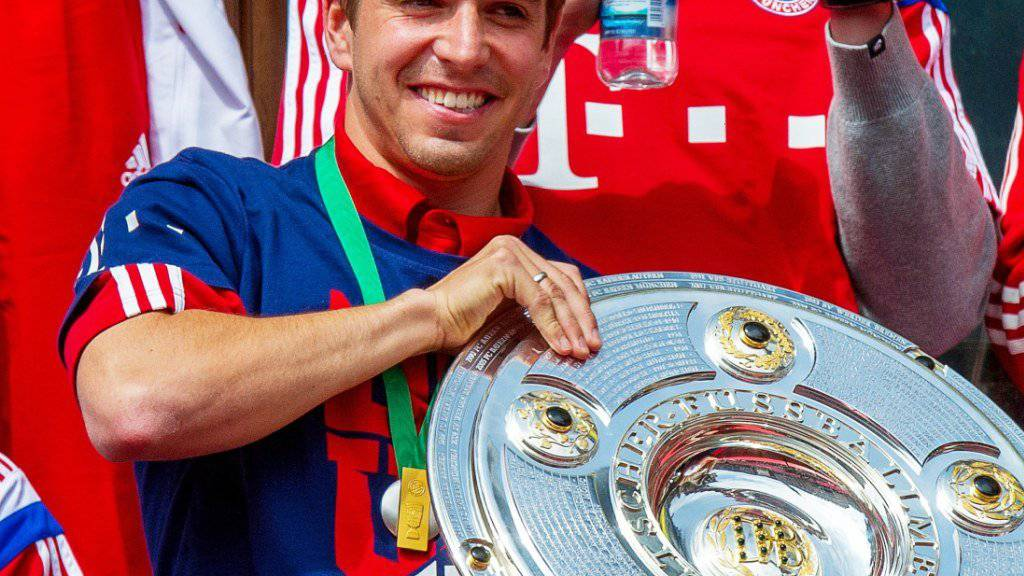 Philipp Lahm wird zum Abschluss seiner Karriere zum Fussballer des Jahres gewählt
