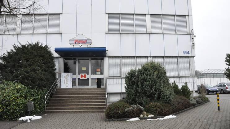 Hier schlug der Täter zu: Der Spielsalon «Playland» in der Telli in Aarau.