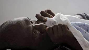 Ein Tuberkulose-Patient (Archiv)