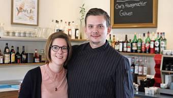 Die «Fabriggli»-Wirte Evelien Reukers und Simon Hauri sind angekommen, ziehen nach einem Jahr eine positive Bilanz.