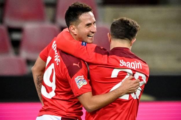 Am Wochenende markierte er seine Treffer acht und neun für Dinamo Zagreb und führt damit die Torschützenliste der kroatischen Liga an.