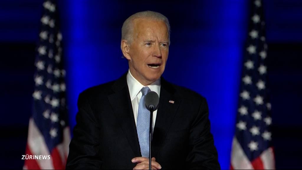 Nach historischem Wahlsieg: Das sind die Highlights von Joe Bidens Siegesrede