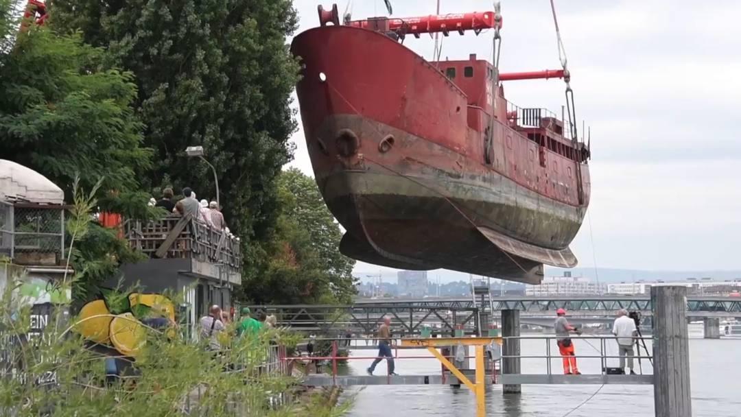 Neues Leben für irisches Leuchtturmschiff