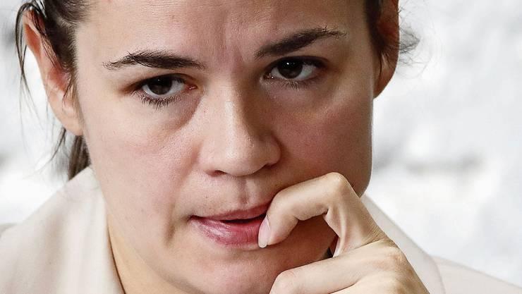 Nach Litauen geflüchtet: Swetlana Tichanowskaja.