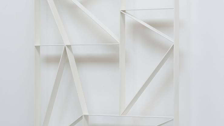 Stahlgitter «Kalk 16» von Daniel Robert Hunziker.