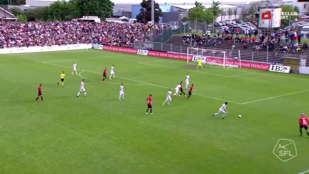Challenge League, 2018/19, 36. Runde, FC Aarau – FC Rapperswil-Jona: 65. Minute, Tor zum 1:0, Stefan Maierhofer