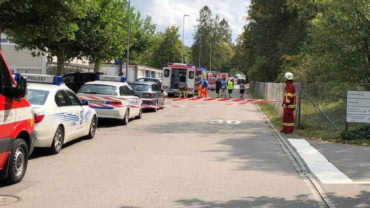 Ozon-Zwischenfall in der St. Josef-Stiftung in Bremgarten.