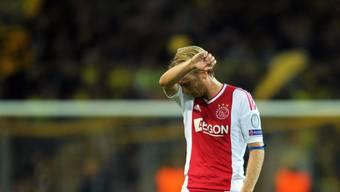 """Sitzt zurzeit mit """"Hausarrest"""" zuhause: der ehemalige Profi und aktuelle Ajax-Assistenztrainer Christian Poulsen"""