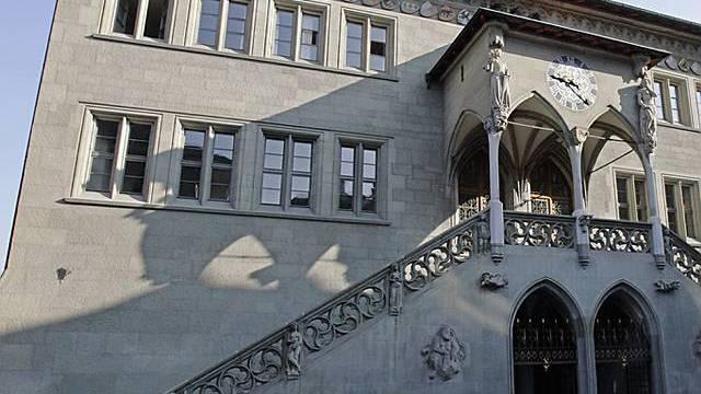 Blick auf das Berner Rathaus (Archiv)