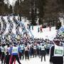 Die Teilnehmer am Engadin Skimarathon erhalten bis zu einem Drittel ihres Startgeldes zurück