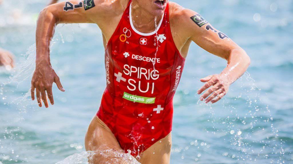 Nicola Spirig will sich nun auf den Grand Final der WM-Serie in Lausanne konzentrieren