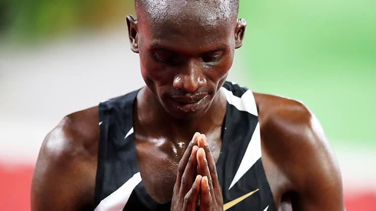 Der ugandische Wunderläufer Joshua Cheptegei