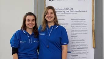 «Chlauschlöpf-App»-Entwicklerinnen: Sybille Caselli (l.) und Dana Jovanovic.