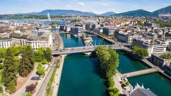 In Genf sind Familienwohnungen am teuersten.