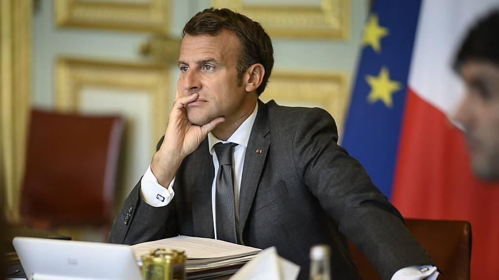 Macron will EU-Partner von Wiederaufbauplan überzeugen
