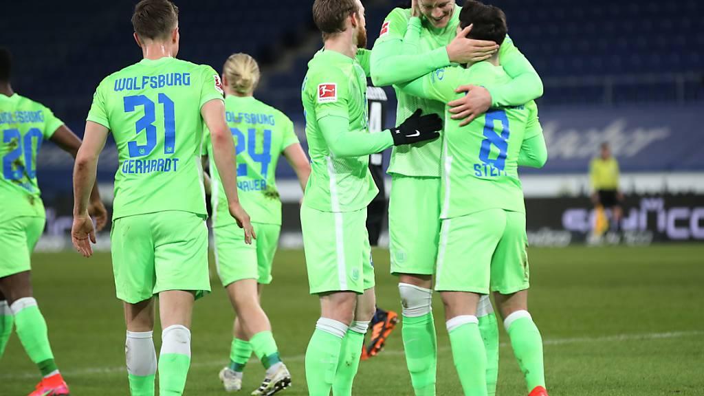 Wolfsburg siegt dank Steffen und bleibt ohne Gegentor