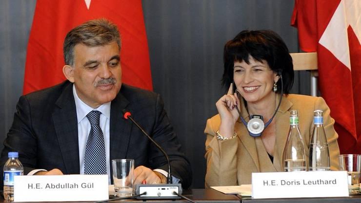 Abdullah Gül und Doris Leuthard (Bilder: Keystone)