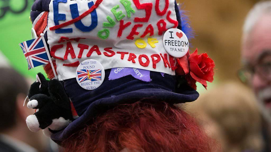 """Premierminister Cameron gab das Datum zur Abstimmung über das EU-Referendum nach einer Kabinettssitzung bekannt. Er sprach von einer der """"wichtigsten Entscheidungen unserer Generation"""".  (Archiv)"""