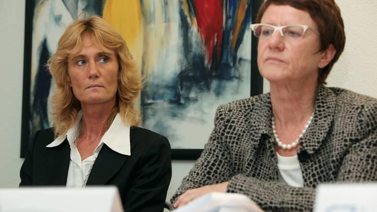 Susanne Schläpfer und Susi Rupp.