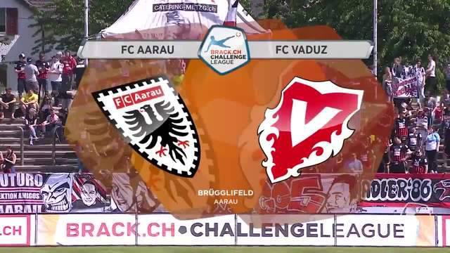 Challenge League, 2017/18, 36. Runde, FC Aarau – FC Vaduz, Highlights