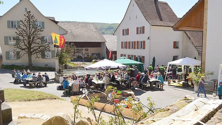 Brunnenfest Wenslingen