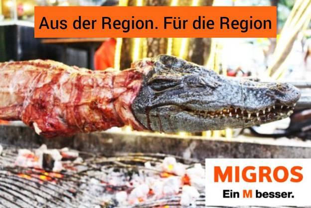 Hauptsache, regionale Produkte.