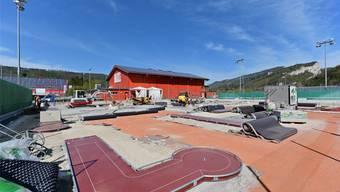 Minigolf-Anlage im Moos in Balsthal
