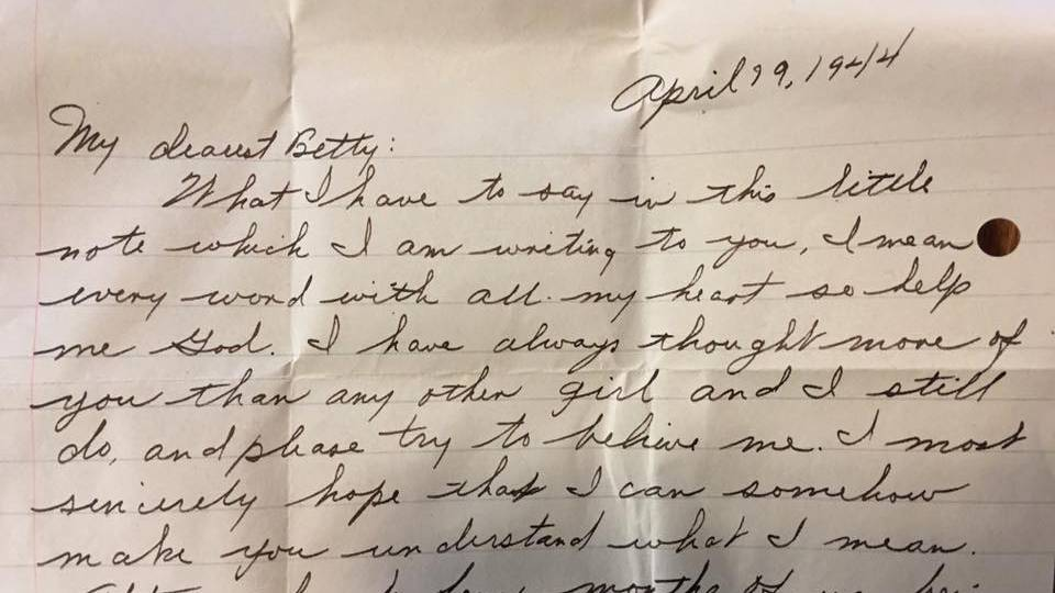 Polizei löst Rätsel um mysteriösen Liebesbrief