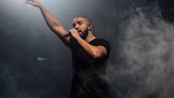 Erfolgreicher als Michael Jackson und die Beatles: Der kanadische Rapper Drake ist der König der US-Charts.
