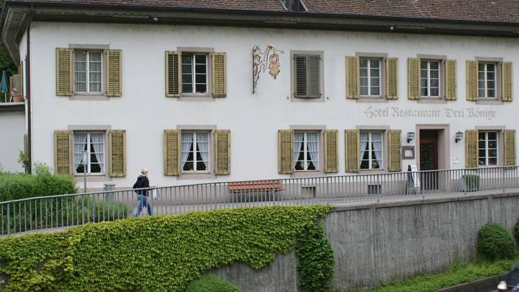 Aus dem ehemaligen Hotel Drei Könige in Rheinfelden wird eine Schule._ach