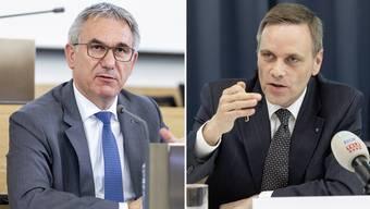 Für eine weitere Amtszeit nominiert: Alex Hürzeler (links) und Jean-Pierre Gallati.