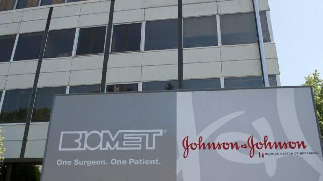 Biomet-Gebäude in Le Locle