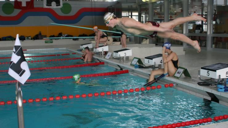 Die schnellsten Rettungsschwimmer treffen sich in Brugg (Symbolbild).