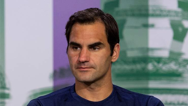 Roger Federer zeigte sich an der Pressekonferenz selbstkritisch. Key