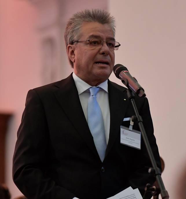Aldo Bigolin, Präsident des Vereins Kuratorium Internationale Musikwoche.