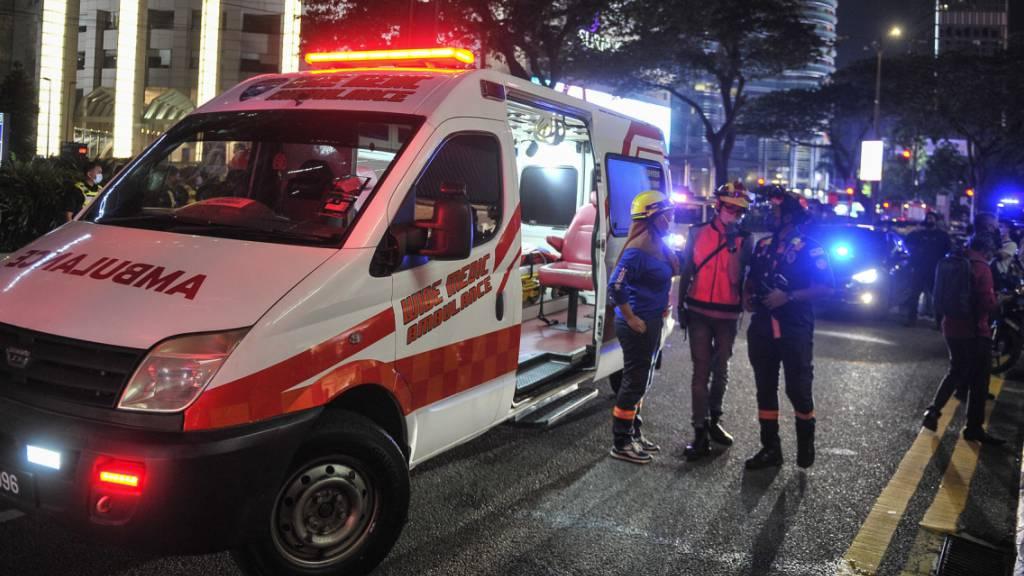 Kollision von Stadtbahnen in Kuala Lumpur: 65 Verletzte im Spital