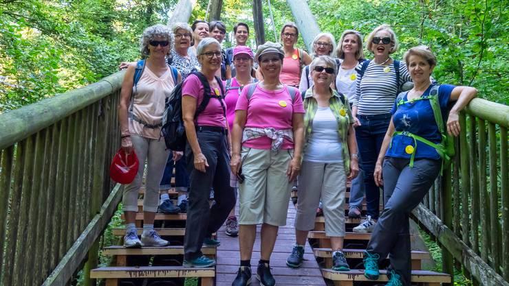 Bei allerbesten Wanderverhältnissen konnten die Frauen vom Frauenverein Lohn-Ammannsegg den Spätsommer geniessen.