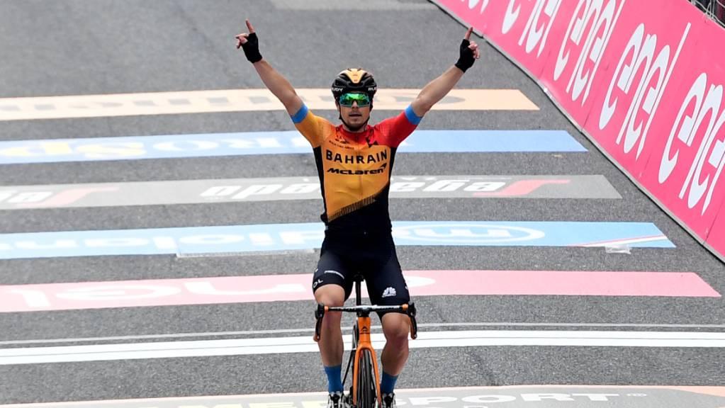 Der Slowene Jan Tratnik reüssiert in der 16. Giro-Etappe als Ausreisser