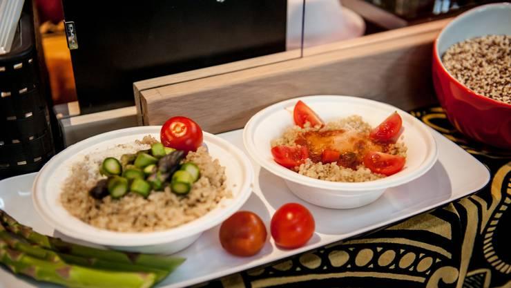 Am 25. Juni findet die erste Veganmania statt. Am Food-Festival in Aarau nimmt auch ein umstrittener Aussteller teil. (Symbolbild)