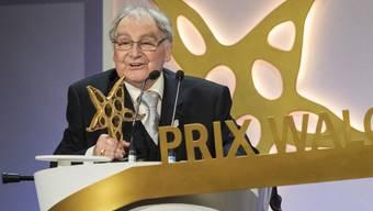 Im Mai erhielt Schneider den Prix Walo für sein Lebenswerk (Archiv)