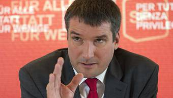 SP-Präsident Christian Levrat.