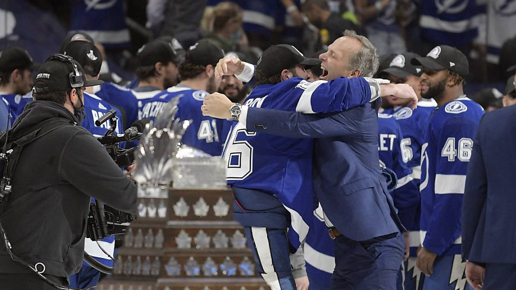 Auch in diesem Jahr ging der NHL-Titel an die Tampa Bay Lightning.