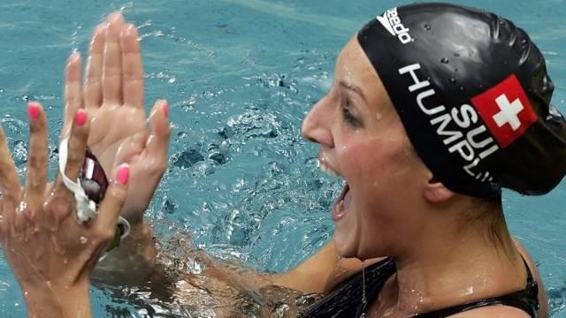 Patrizia Humplik vom SK Worb weiter in Hochform
